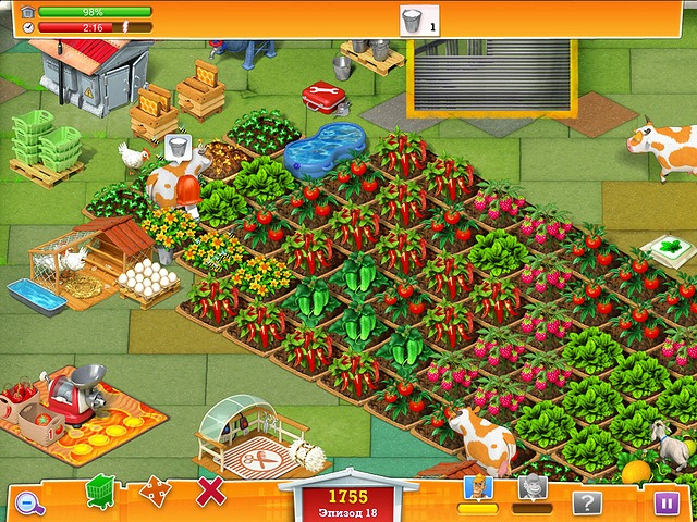 Виноградная ферма игра