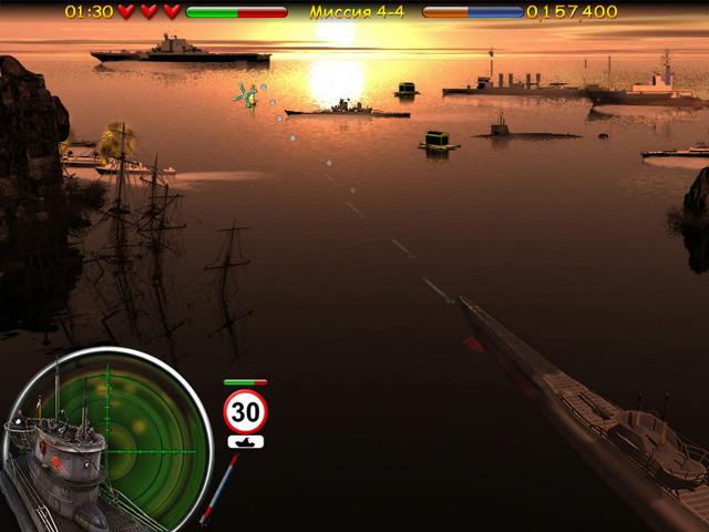 Морской бой подводная война скачать с ключом