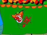 Flash игра Рыжий клоун