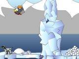 Flash игра Приключения пингвина