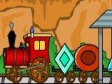 Flash игра Поезд из Фигур