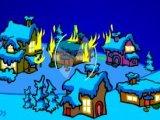 Flash игра Охота на деда Мороза