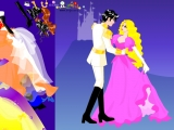 Colorful Wedding Dress Up Col