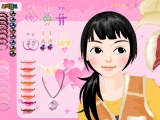 Flash игра Girl Make Up 14 	Girl Make Up