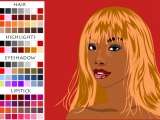 Flash игра African American Make Up