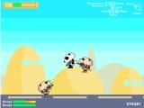 Flash игра Panda Bear War