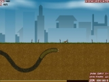 Flash игра Effing Worms