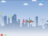 Flash игра Полет с препятствиями