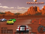 Flash игра 3D Делюксовые гонки