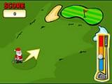 flash игра Christmas Putt & Play