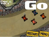 Flash игра Monster Truck Racing