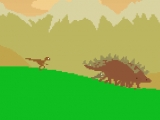 flash игра Dino Run - Marathon of Doom