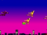 Flash игра Ninja air combat