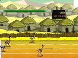 Flash игра Big Bird Racing