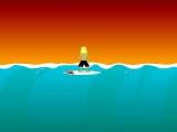 Flash игра Zombie Surf