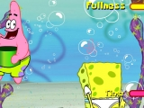 Flash игра Sponge Bob: Water Arcade