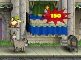 flash игра Shrek shreds