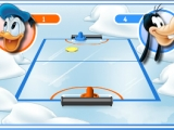 Flash игра Аэрохоккей с Микки