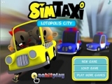 Flash игра SimTaxi: Lotopolis city