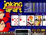 Flash игра Joking Apart Video Poker