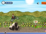 Flash игра Moto rallye