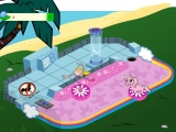Flash игра Cartoon Cove Mini Golf