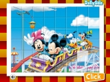 Flash игра Mickey in Rollercoaster