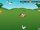 Flash игра Летающий поросенок
