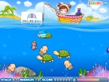 flash игра Sue Fishing Queen