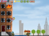 Flash игра City on Fire