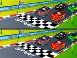 Flash игра Racing Cartoon Differences
