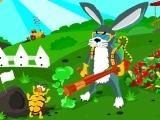 Flash игра Bunny vs Beetles