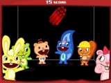 Heppy Tree Friends Throw Dynamite