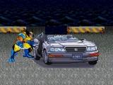 flash игра Wolverine Car Smash