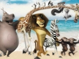 flash игра Madagascar - Find the Alphabets