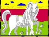 Barbie and Pony