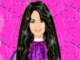 Selena Gomez Cool Hairstyle