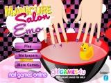 flash игра Emo Manicure Salon