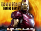 flash игра Iron Man Defend Earth