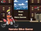 flash игра Naruto Bike Game