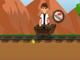 flash игра Ben 10 gold miner