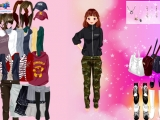Koreai Girl Dress Up