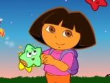 Dora The Explorer Star Catching
