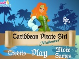 Карыбскае Pirate Girl Makeover