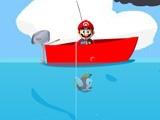 flash игра Mario Mushroom Fishing