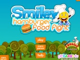 Smiley Hamburger Food Fight