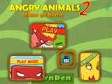 Angry Animals 2 Aliens go home