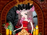 flash игра Halloween Bride