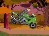 Motorcycle Forest Bike Riding