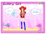 Victory Girl Dressup